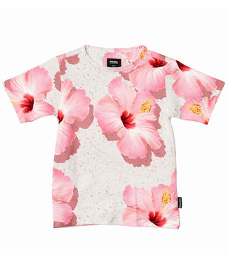 SNURK Shirt unisex Pink Hawaii