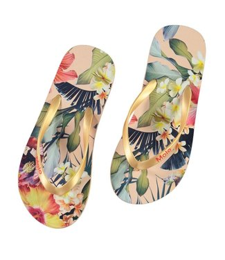 Molo kinderkleding Slippers Zeppo Hawaiian Flowers