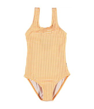 Molo kinderkleding Swim suit Nika Orange Stripes