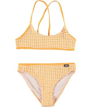 Molo kinderkleding Bikini Neddy orange Stripe