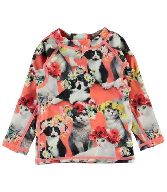 Molo kinderkleding Swim shirt Nemo Flower Power Cats