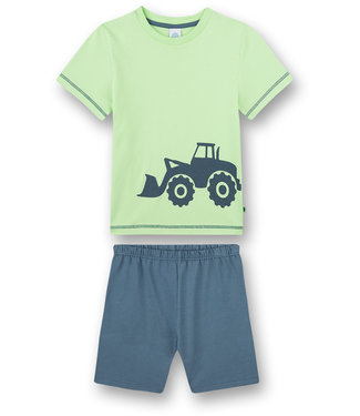 Sanetta Pajamas with short Tractor