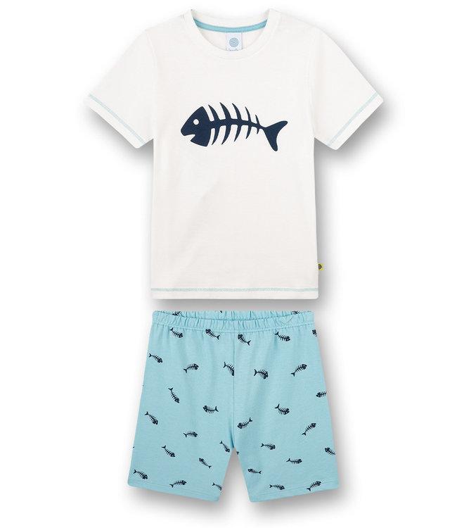 Sanetta Pajamas with short Fishbone