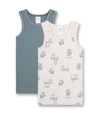 Sanetta Unterhemd Rhino 2-pack