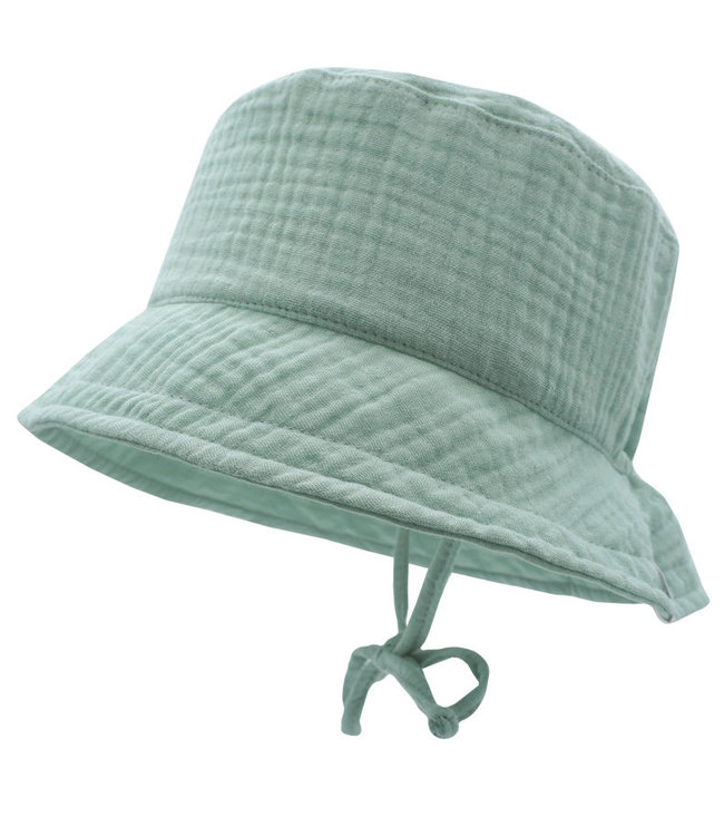 Maximo Sun hat mousseline Mineral