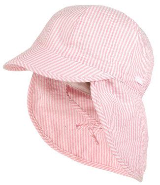 Maximo Zonnehoedje met nekbescherming Rosebloom Stripe