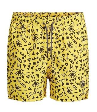 Jack & Jones Badeshorts Bali Vibrant Yellow