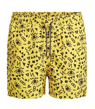 Jack & Jones Swim short Bali Vibrant Yellow