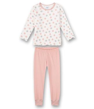Sanetta Schlafanzug Multidots Pink