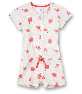 Sanetta Schlafanzug Overall Strawberry