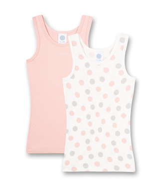 Sanetta Camisole Multidots Pink 2-pack