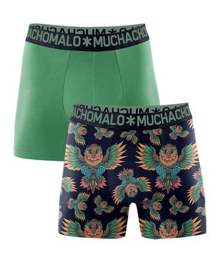 Muchachomalo Boxershort bamboe Owl 2-pack