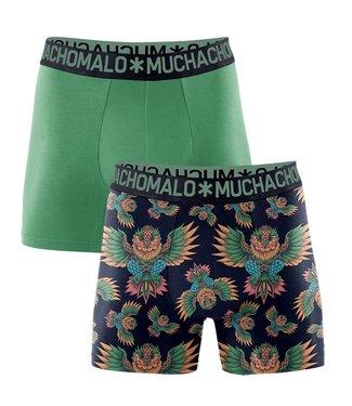 Muchachomalo Boxershorts Bambus Owl 2er Pack