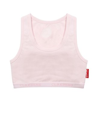 Claesen's Crop topje Basic Pink