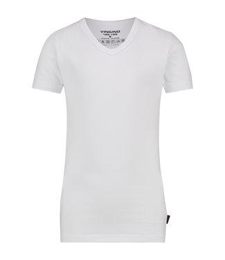 Vingino T-shirt V-hals wit