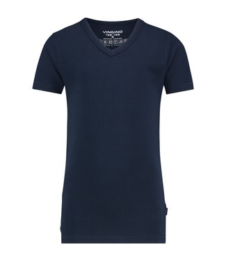 Vingino T-shirt V-Ausschnitt Blau