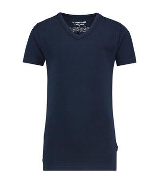 Vingino T-shirt V-neck navy
