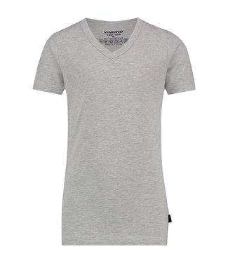 Vingino T-shirt V-hals grijs