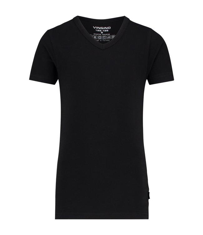 Vingino T-shirt V-neck black