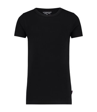 Vingino T-shirt  ronde hals zwart