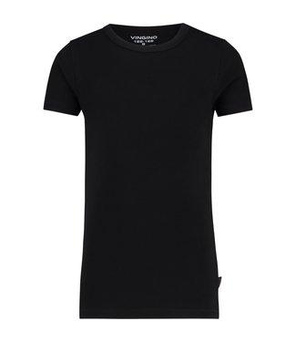 Vingino T-shirt  round neck black