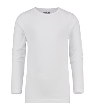 Vingino T-shirt  ronde hals wit LM