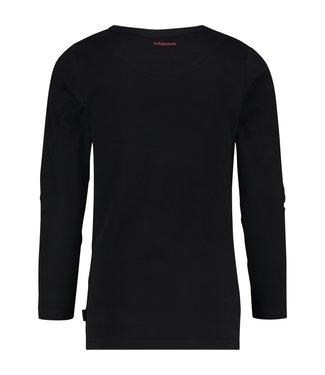Vingino T-shirt  ronde hals zwart LM