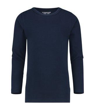 Vingino T-shirt  round neck black LS