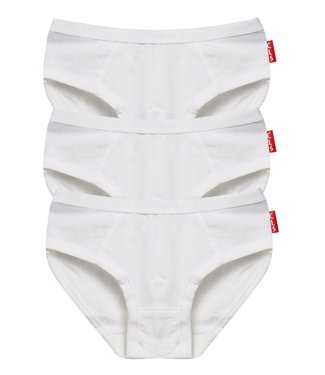 Claesen's Rioslip Basic White 3-Pack