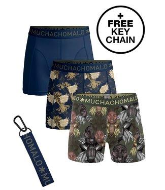 Muchachomalo Boxer trunks Maori King 3-pack