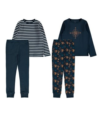 Name it Pyjama Dark Sapphire Earth 2-pack