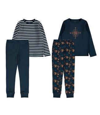 Name it Pyjama set Dark Sapphire Earth 2-pack