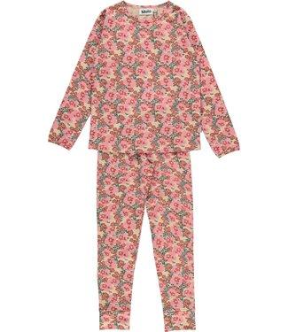 Molo kinderkleding Pyjama Lov Graphic Flowers