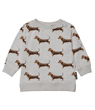 SNURK Baby sweater James Grey