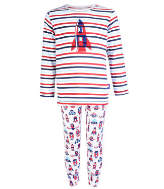 Claesen's Pyjama long john Cosmic Stripes