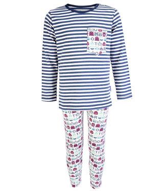 Claesen's Pyjama long john Robot Stripes