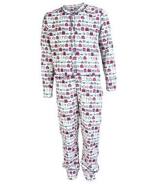Claesen's Pyjama onesie Robot Stripes