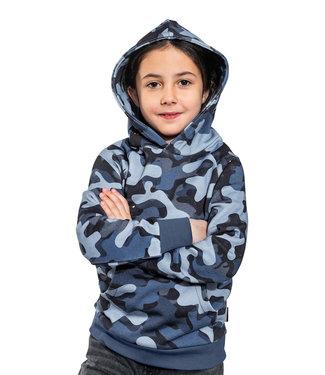 SNURK Sweater met hoody Paper Nights