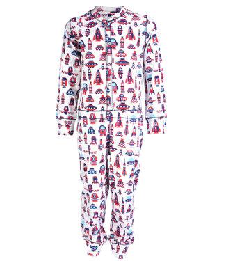Claesen's Pyjama onesie Cosmic Stripes