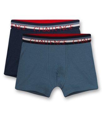 Sanetta Boxershort Navy Blue 2-pack