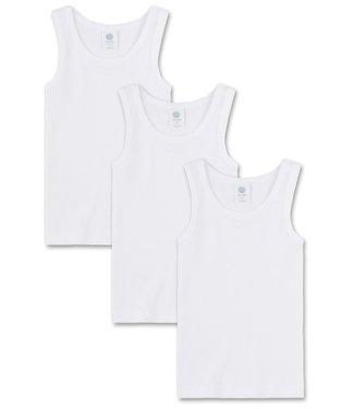 Sanetta Hemdje Basic White 3-pack