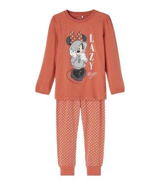 Name it Pyjama Minni Lazy Etruscan Red
