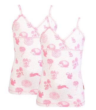 Claesen's Hemdje Pink Autumn  2-pack