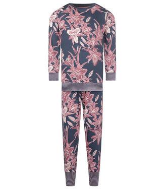 Charlie Choe Pyjama lounge Indigo Flower