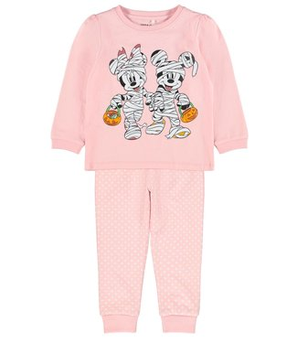 Name it Pyjama Minnie and Mickey Pink