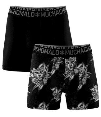 Muchachomalo Boxershort bamboe Panther 2-pack