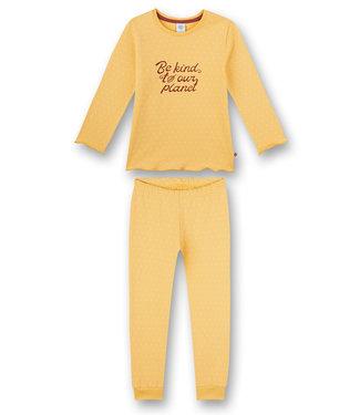 Sanetta Pyjama Yellow Be Kind