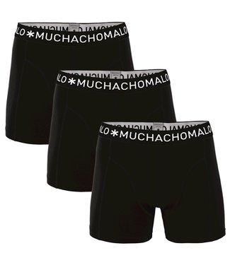 Muchachomalo Boxershort Black 3-pack