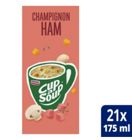 UNOX CUP A SOUP Champignon Ham