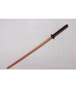 Bokken training sword brown wood katana